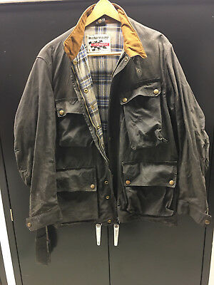 a9ff93e00d0d 1966 Belstaff Vintage Trailmaster Motor Cycle Weatherware Made In England