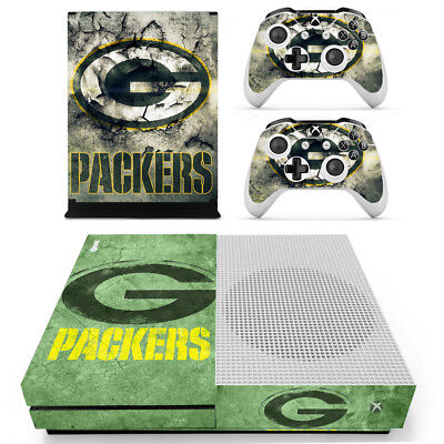 2 Controller Skins 097 Creative Xbox One X Green Bay Packers Vinyl Protector Skin