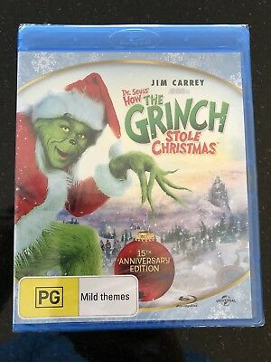 The Grinch*****blu-Ray*****region B*****new & Sealed