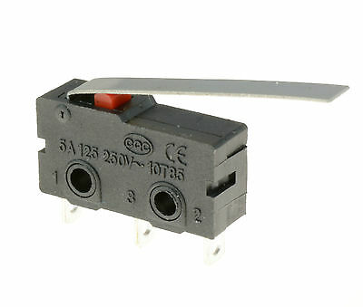 Lever Actuator Microswitch SPDT 5A Micro Switch