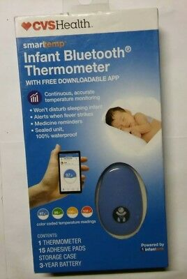 CVS Health Smarttemp Infant Bluetooth Thermometer NEW