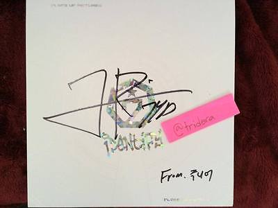 GOT7 Identify Album Close Up Signed Autographed JinYoung MWave Meet&Greet KPOP