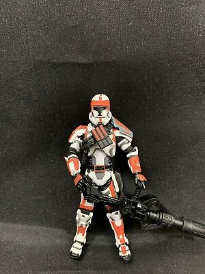 """Star Wars Tvc Black Series 3.75"""" The Old Republic Trooper TOR #31 Loose Complete"""