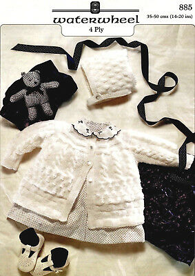 """""""COPY""""  Waterwheel-885   Baby Clothes Knitting Pattern  35-50 cm / 14-20"""""""