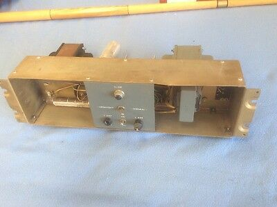 Vintage Ampex TS 301 Amp 31561-01 Untested Sold As Is For Parts Or Repair
