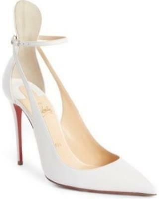 huge discount 23f9a 84871 CHRISTIAN LOUBOUTIN MASCARA 100 Strappy Pumps Heels Sandals Shoes White $895