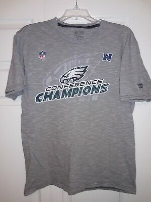 Philadelphia Eagles NFC Champions NFL Pro Line Super Bowl LII T-Shirt Medium dc6ce8b46