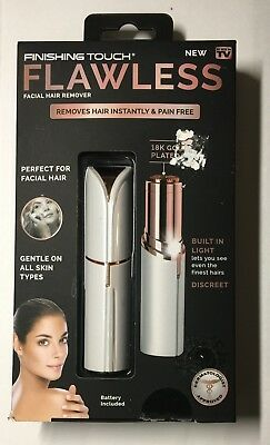 Finishing Touch Flawless Facial Hair Remover  For Women  - As Seen On TV