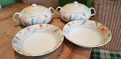 Boots Country Cottage - Lidded Tureens & Serving Bowls ( Royal Stafford )
