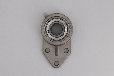 "SUCSFB206-18 1-1/8"" Stainless Flange Bracket Bearing 3-Bolt - High Quality"
