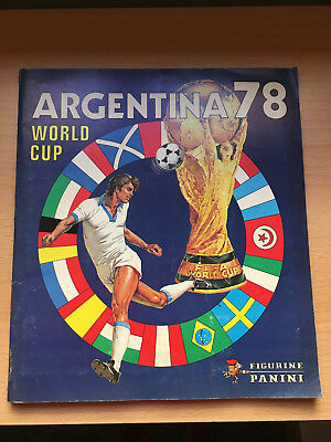 TOP Argentina WM 1978 Panini Sticker WC Album 78 World Cup  RARE  100%Complete