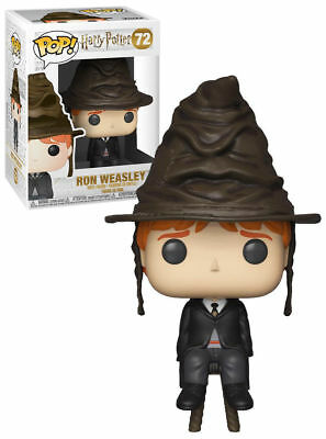 Figurine Funko Pop! Harry Potter 72 Ron Weasley Sorting Hat Limited Edition 10cm