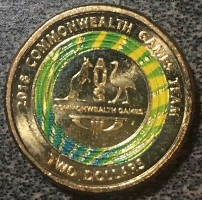 Limited Edition 2018 AUS -  $2 Dollar Coin, Special Commonweal Games
