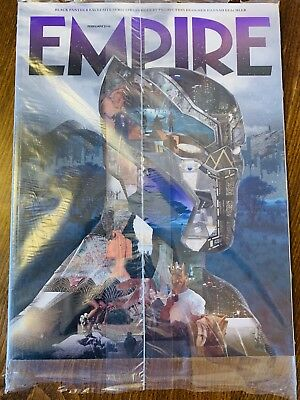 New Empire Magazine 345 February 2018 Exclusive Black Panther Subscriber Cover