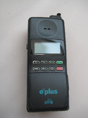 E-Plus Handy, Motorola E-Plus, Garagenfund, Funktion????