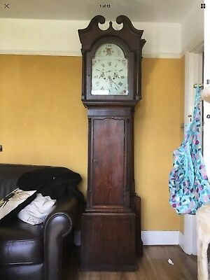 18th Century Long Case Clock 8 Day Duration