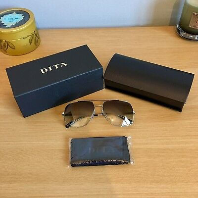 994f5601c97 Authentic DITA Midnight Special Antique Silver Sunglasses - DRX-2010A - £550