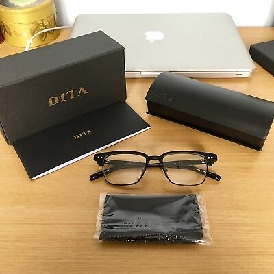 dace2dbd750 AUTHENTIC DITA STATESMAN Three Matte Black Glasses Size52 NEW - DRX-2064-C  £550+ - EUR 457