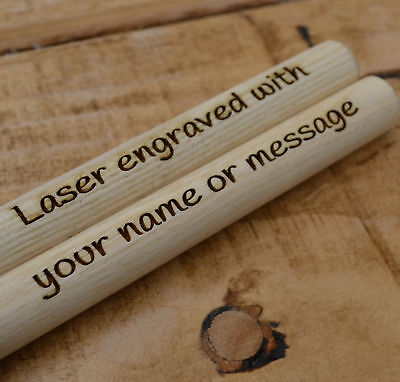 Personalised Drumsticks 5A Drum Sticks Maple Wood Music Band Jazz  Rock