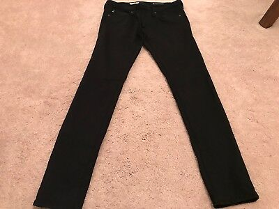 a46b39a552f54 Women's Adriano Goldschmied AG Black Jeans Pants Size 29 Waist Nordstrom  $200+