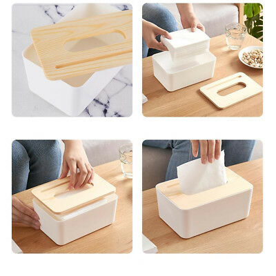1 PC Tissue Box Rectangle Multifunctional Creative Plastic Phone Holder for Cars