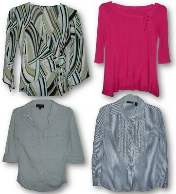 Lot Of 11 Stylish Tops Blouses Button Up Work Casual Ae Forever 21