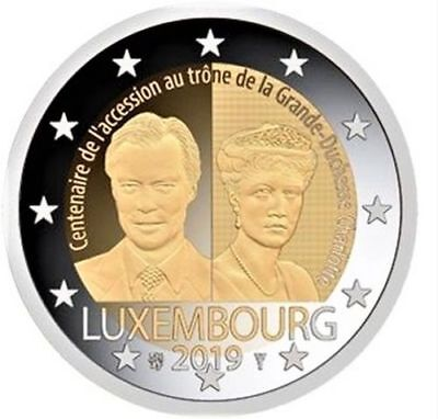 2 euros - Luxembourg 2019 - CHARLOTTE - UNC