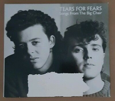 Tears For Fears ‎– Songs From The Big Chair [2 x CD Digipak]