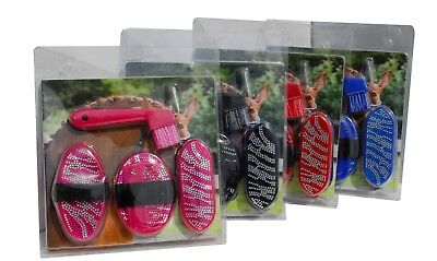 Rhinegold Glitter/Sparkle Junior Grooming Kit - Comes in 4 Colours as per pics