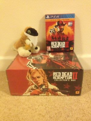 RED DEAD REDEMPTION 2 ULTIMATE COLLECTORS steelbook complete edition on PS4
