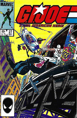 G.I. JOE #27 ... Marvel ... September 1984 [1st Print] ... VERY FINE - NEAR MINT