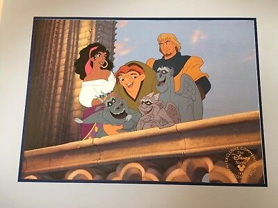 Disney The Hunchback Of Norte Dame 1997 Lithograph New In Envelope
