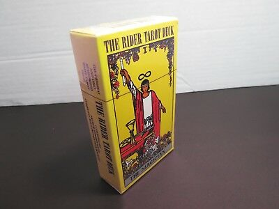 The Original Rider Waite Tarot Cards Complete 78 Card Deck W/Booklet New Sealed