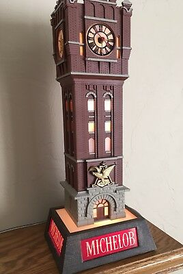 1960's Anheuser-Busch Michelob - Lighted Brew House Clock Tower