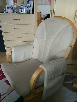 Chair Nursing Maternity Chair Breastfeeding Baby Natural Swinging