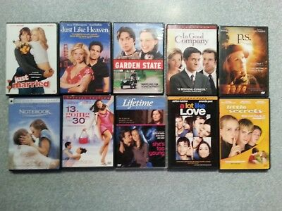 10 DVDs Romantic Comedy Drama Romance Teen Young Adult
