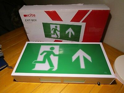 LED Maintained Emergency Exit Light Box