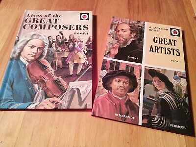Ladybird Books HISTORY (Series 561) Lives of the Great Composers and Artists