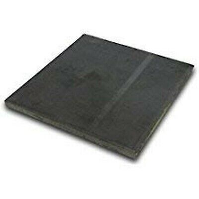 "Hot Rolled Steel Plate 1/4"" x 4"" x 4"" (4 Pack!)"