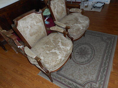Antique French chairs Louis XVI Style  circa 19th century