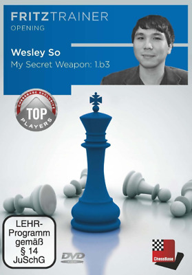 Chessbase Fritztrainer Opening - Wesley So - My Secret Weapon 1.b3