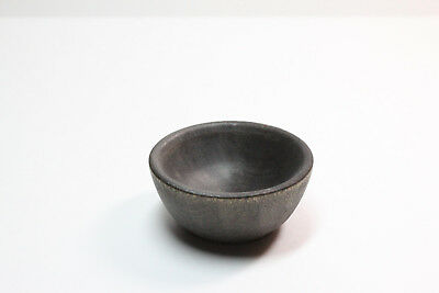 Tiny Ebony Spinning Bowl - Natural Wood Spinning, Children's, or Accessories