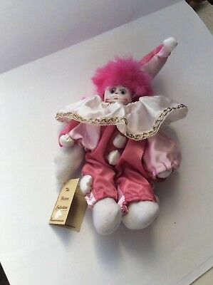Helena Collection Clown Doll.