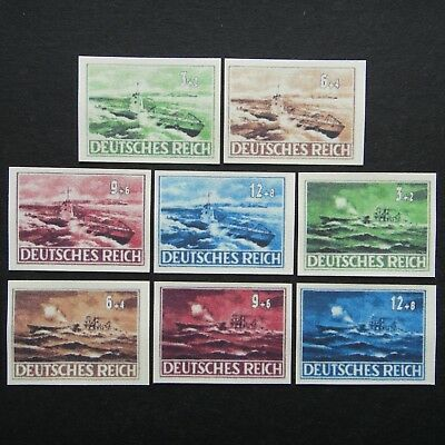 Germany Nazi 1939 1940 1945 Stamps MINT Imperf #11 Army ship Boat WWII  German T