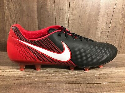 half off 47b23 ed643 Nike Magista Opus II FG ACC Black University Red Size 12.5 843813-061