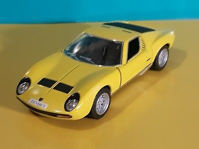 Personalised 71 Lamborghini Miura P400 Sv1 38 Diecast Model Boys