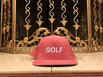 367580e6a4a AUTHENTIC GOLF WANG hat black tyler the creator supreme -  34.99 ...