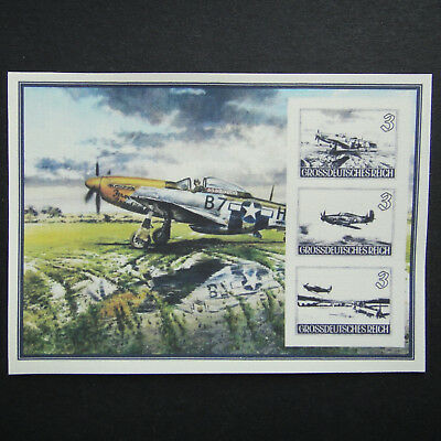 Germany Nazi 1940 1942 1943 1944 1945 Stamps MINT Air fight over England Imper
