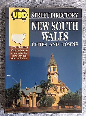 UBD New South Wales, Cities and Towns, Australia 1994 Street Directory