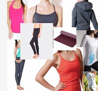 Yoga Clothing and Accessories - Bulk Lot